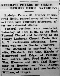 Rudolph Peters obit 1