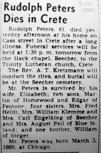 Rudolph Peters obit 2