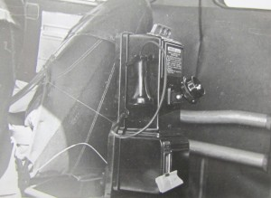 Telephone inside Cessna 1948