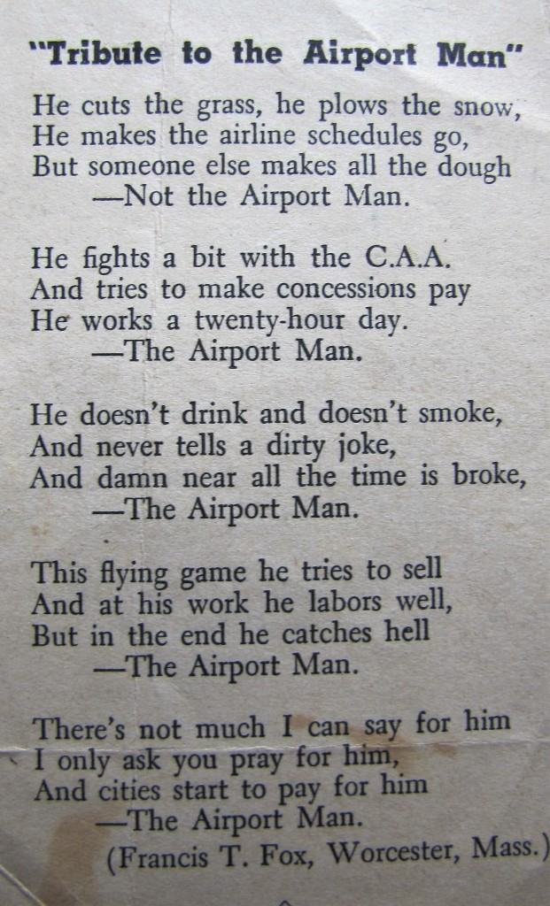 Tribute to the Airport Man