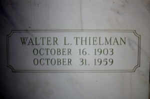 Walter L Thielman