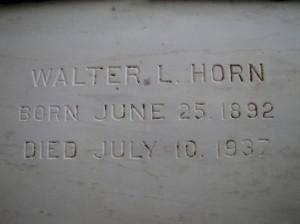 WALTER L. HORN