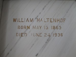 WILLIAM HALTENHOF