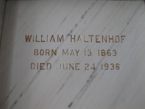 WILLIAM HALTENHOF