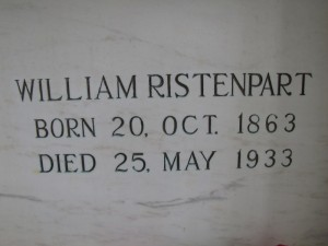WILLIAM RISTENPART