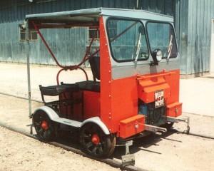 railroad speeder car