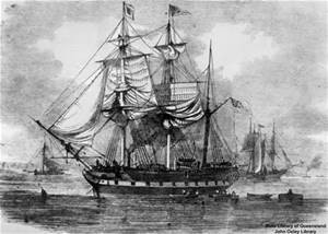 1850 immegrant sailing vessell
