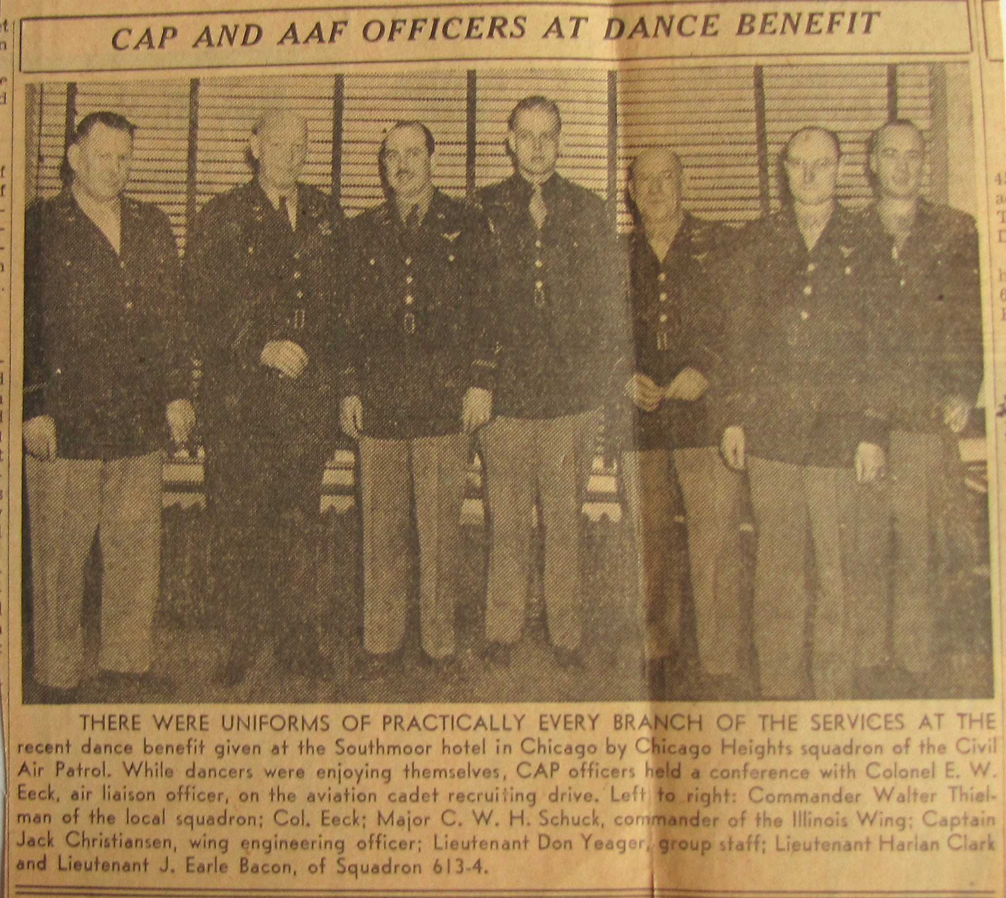 CAPS OFFICERS