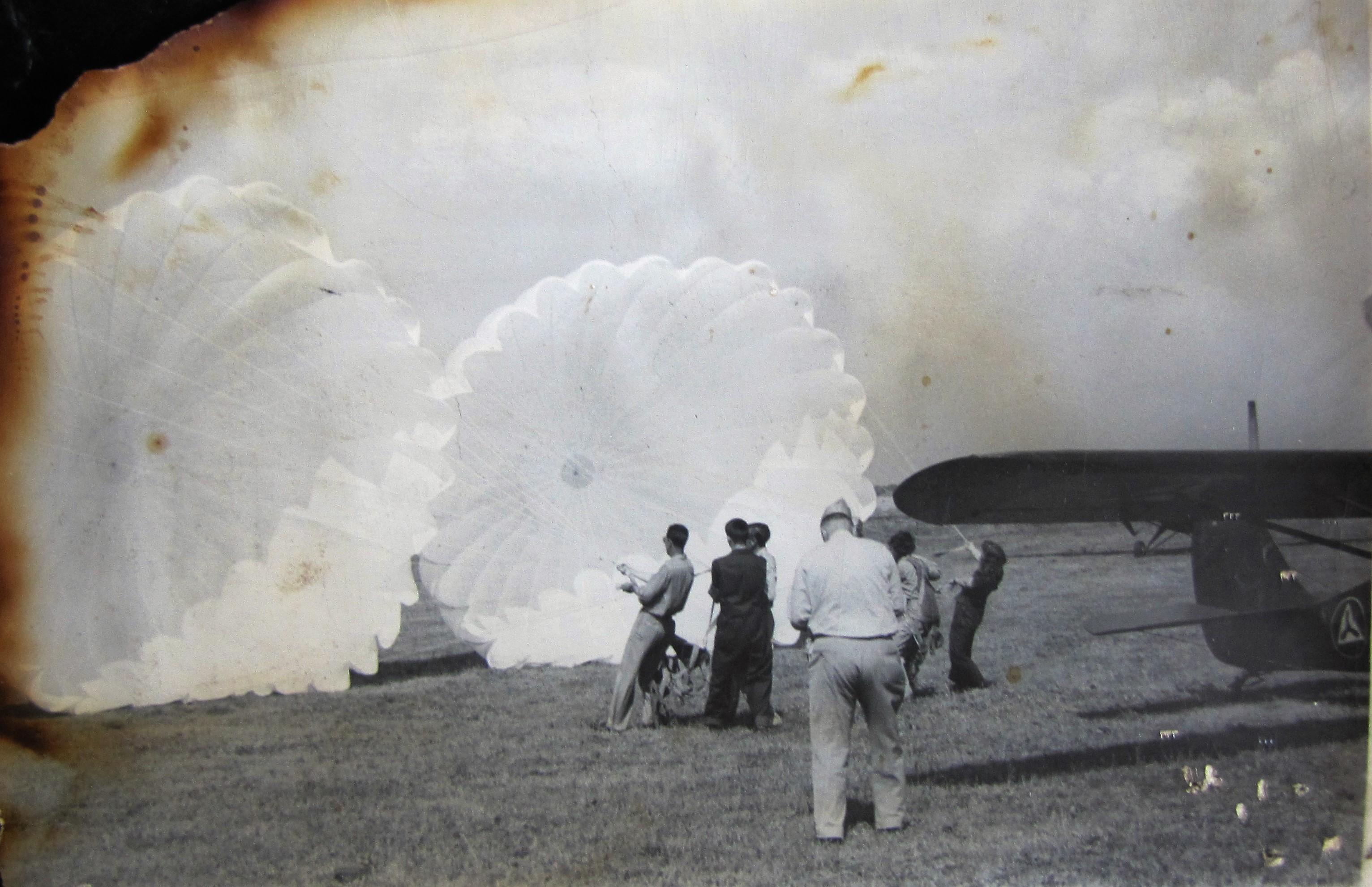CAPS Parachute training